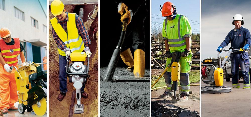 Предоставляем в аренду строительный инструмент и средства малой механизации.